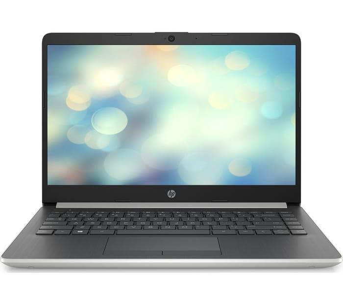 """£80 Off - HP 14"""" AMD Ryzen 3 Laptop - 128GB SSD - Silver"""