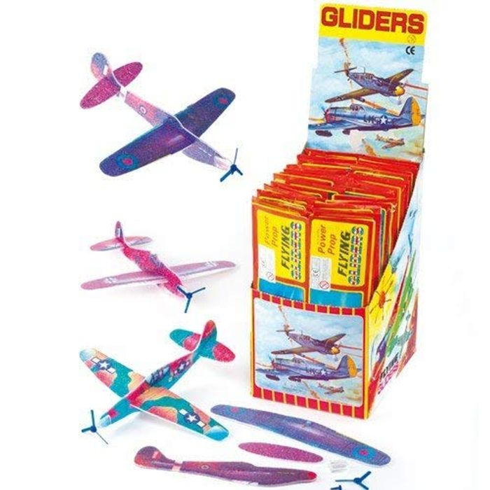 Flying Gliders - TWO PACKS OF 6 CHEAPER THAN ONE PACK! FREE DELIVERY