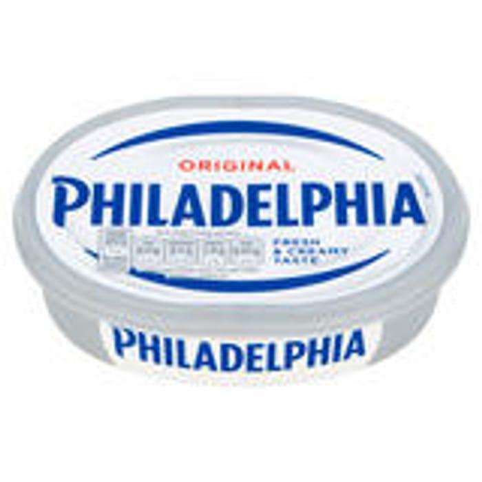 Philadelphia Cheese 170/180g (Various Flavours)