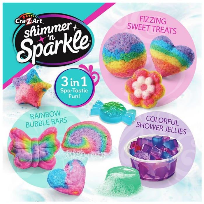 Shimmer N Sparkle 3 in 1 Creative Spa Bath & Shower Set