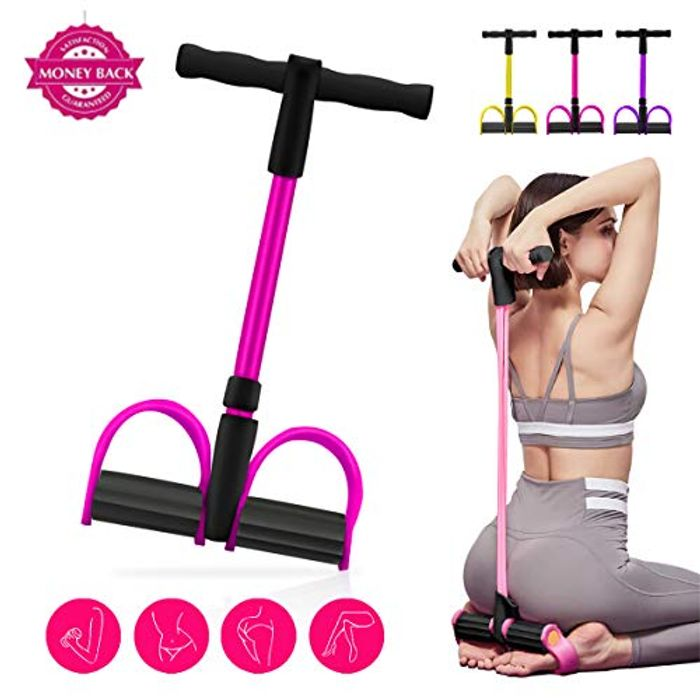30% off 4-Tube Exercise Resistance Bands Puller