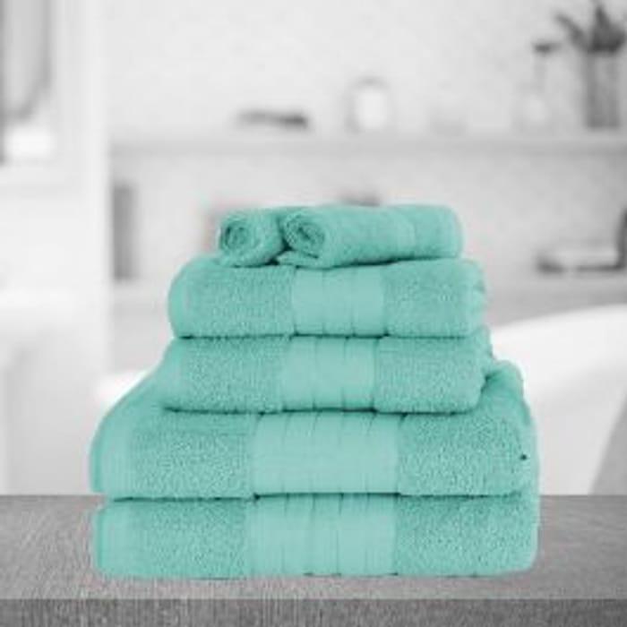 Towel Bale - 6 Piece Aqua