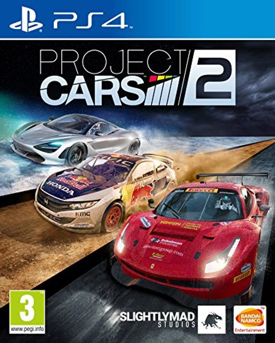PS4 Project Cars 2 £13.99 (Prime) at Amazon