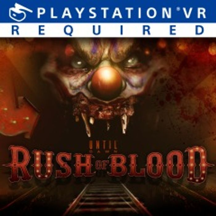 PS4 / PSVR until Dawn: Rush of Blood £5.59 at Playstation Store