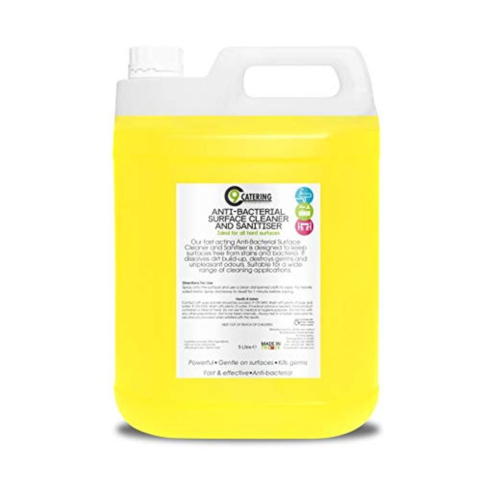 C 9 Catering Anti Bacterial Cleaner and Sanitiser at Amazon
