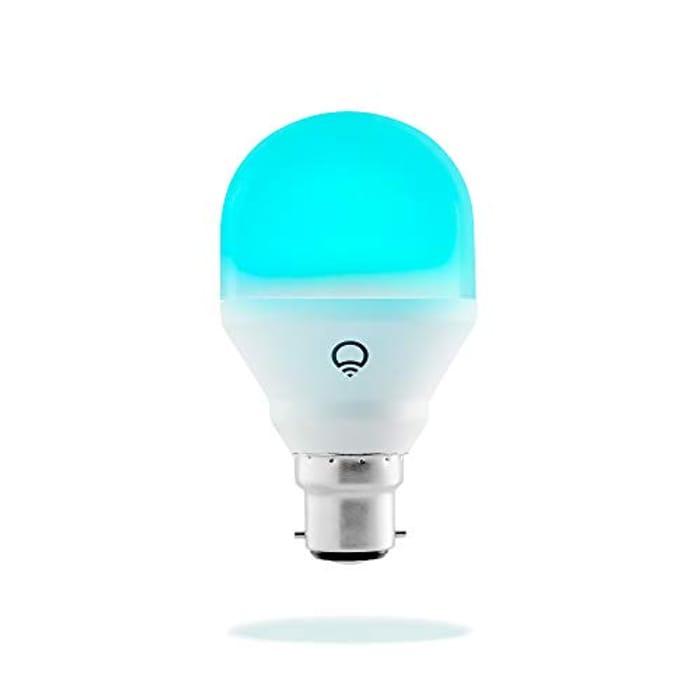 Wi-Fi Smart LED Light Bulb, Adjustable, Multicolour