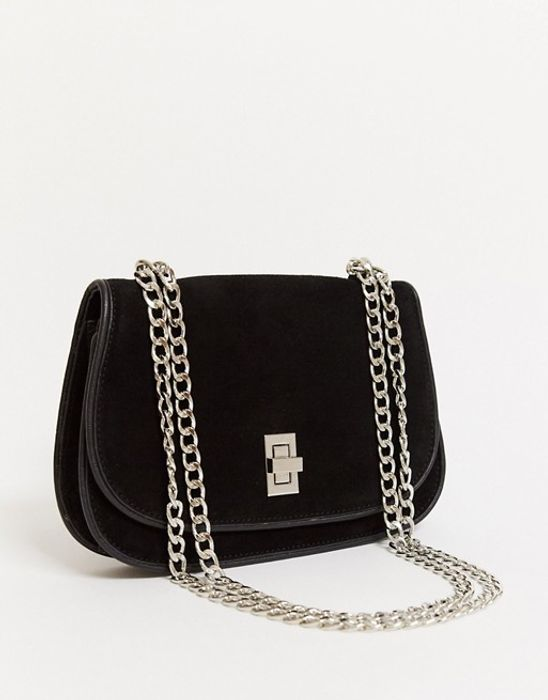 Urbancode Suede Cross Body Bag - Save £88