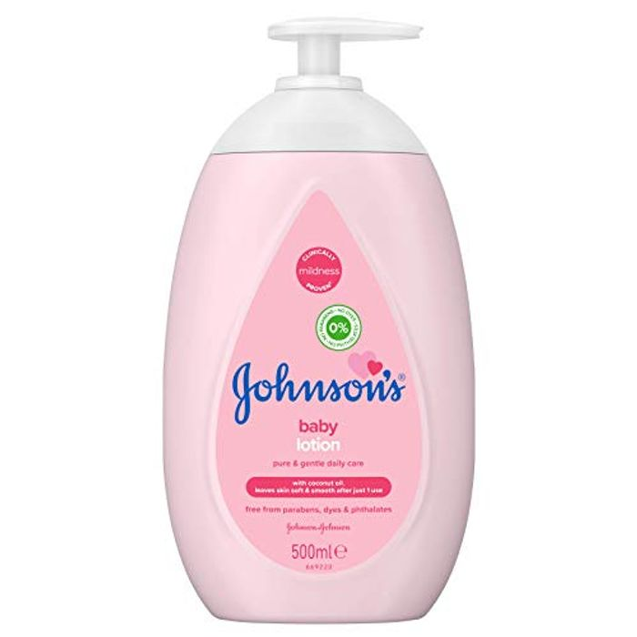 JOHNSON'S Baby Lotion 500ml Gentle and Mild for Delicate Skin