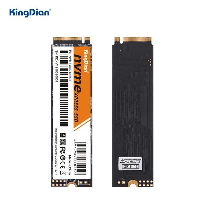 KingDian M.2 Ssd M2 512GB PCIe NVME SSD 1TB 256GB 128GB Solid State Disk