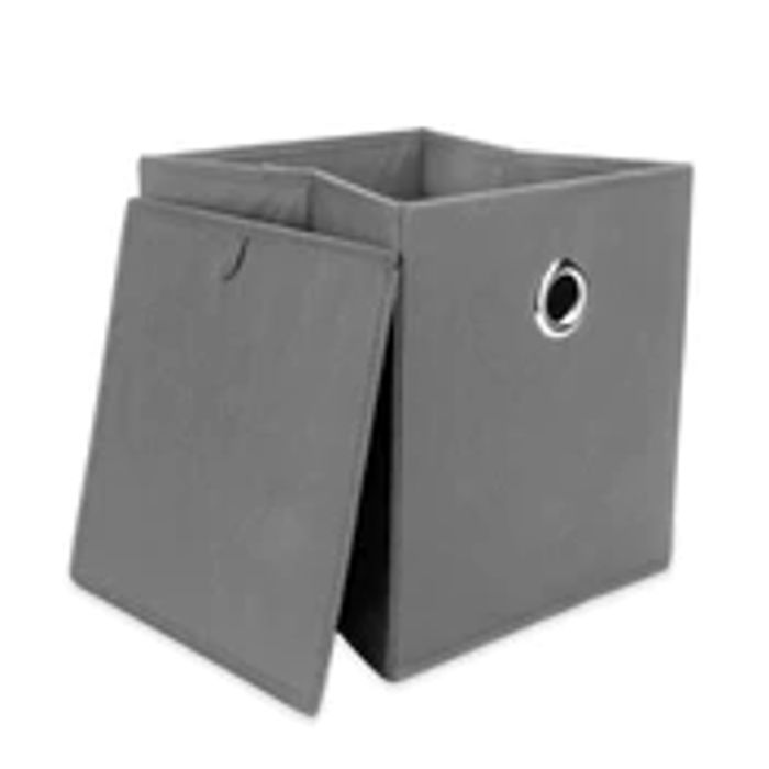 Set of 6 Collapsible Storage Boxes | M&W Grey Only £7.99