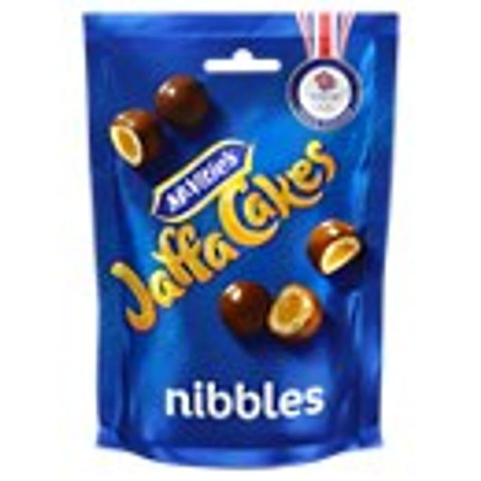McVitie's Nibbles Milk Chocolate, Caramel or Jaffa Cake Nibbles