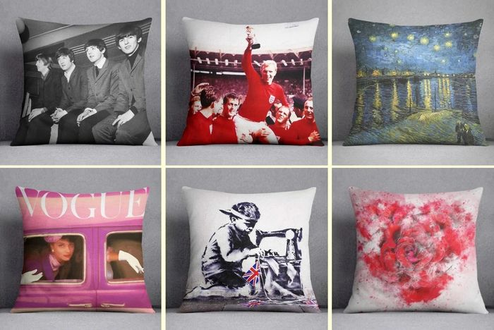 "TODAY Only! 20% off All ""Best of British"" Cushions with Free Delivery!"