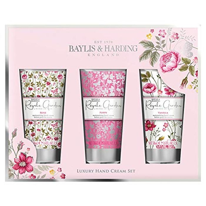 Baylis & Harding Royale Garden Assorted Hand Cream Set, 3 X 50ml