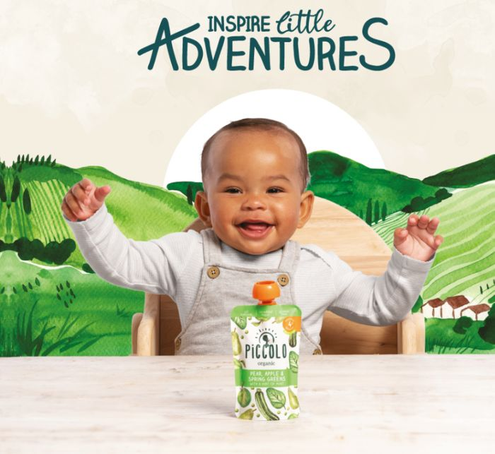 Free Baby Welcome Pack From Piccolo *Voucher, Pouch & Bib