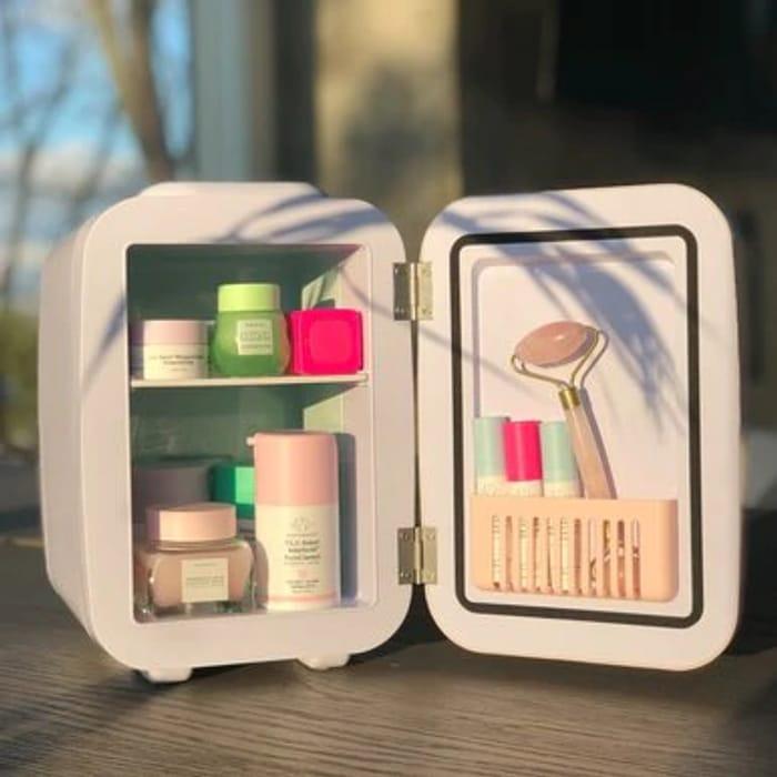 Makeup Fridge, Skincare Fridge and Cosmetics Fridge | Grey Goodies