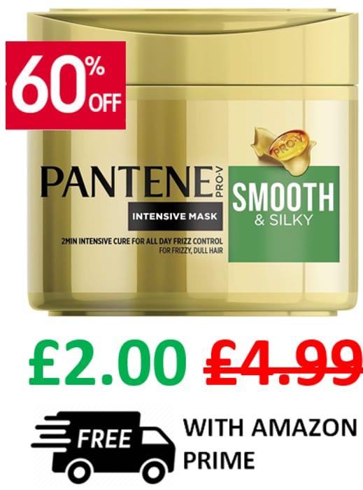 Best Price! Pantene Smooth & Silky Hair Mask **4.8 STARS**