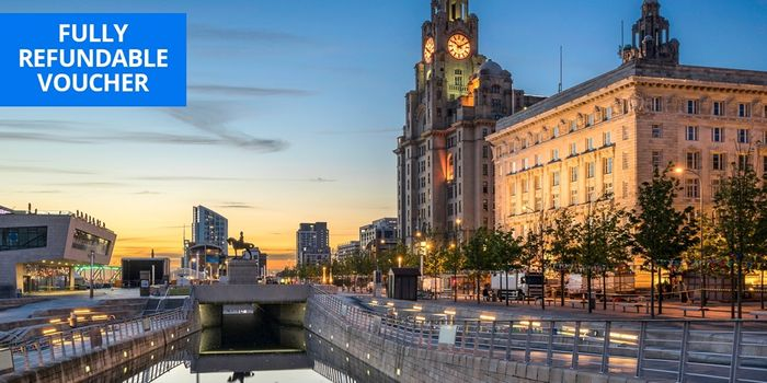 £109 2-Night Central Liverpool Aparthotel Break, 53% Off
