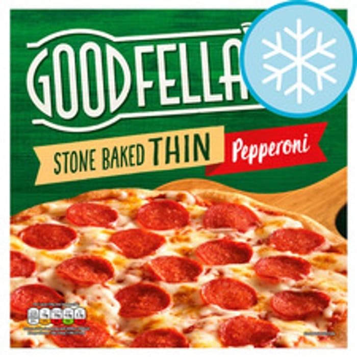 Goodfella's Stonebaked Thin Pepperoni 340G