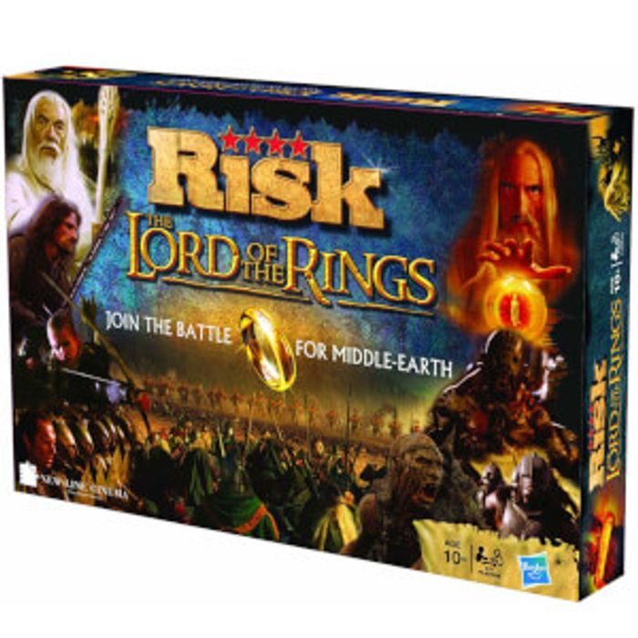 Risk - Lord of the Rings Reduced plus Free Delivery