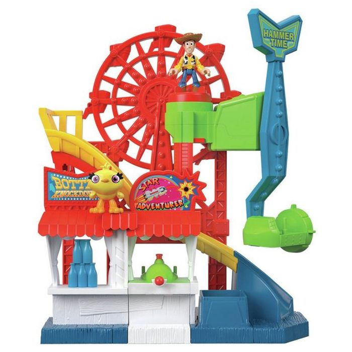 Disney Pixar Toy Story 4 Imaginext Carnival Playset - 50% OFF