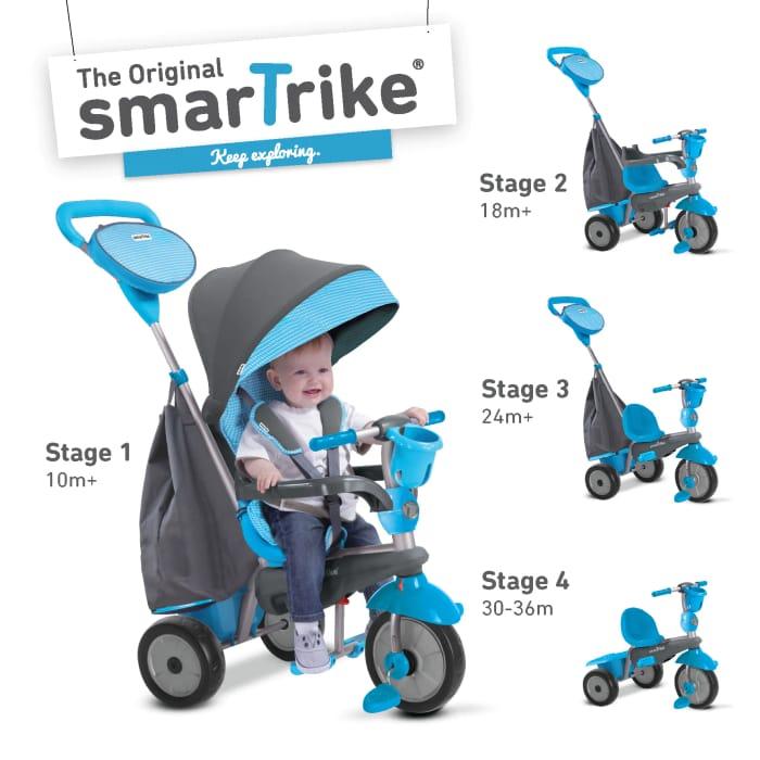 SmarTrike Swing Blue 4 in 1