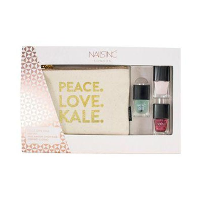 Nails Inc Peace Love Kale Gift Set, Half Price!