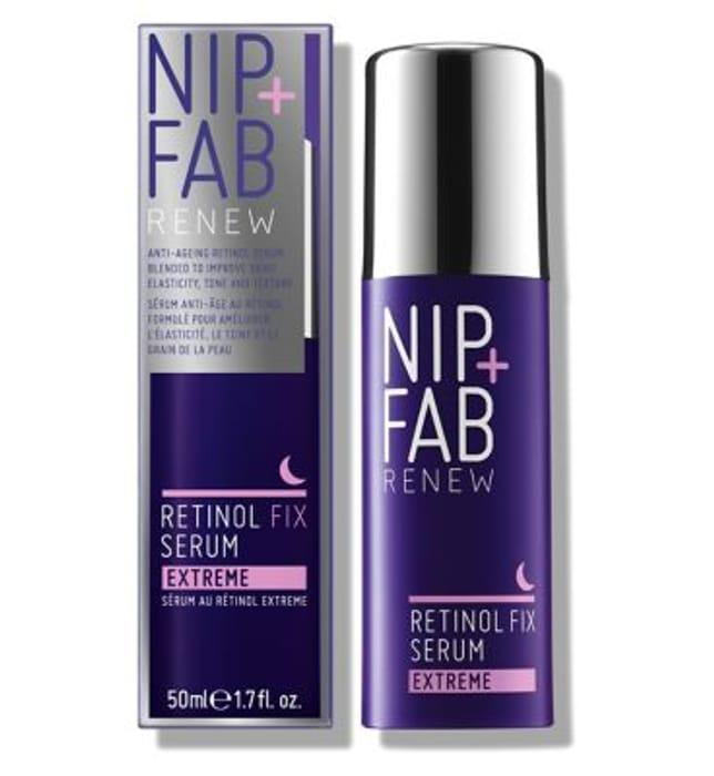 Special Offer - Save £14.98 on NIP+FAB Retinol Fix Treatment - (Serum)