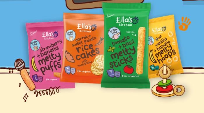 Ellas Kitchen - 50% Off Finger Foods
