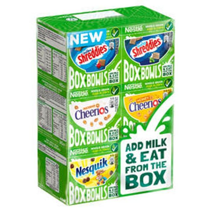 Nestl Box Bowls Cereal 210g