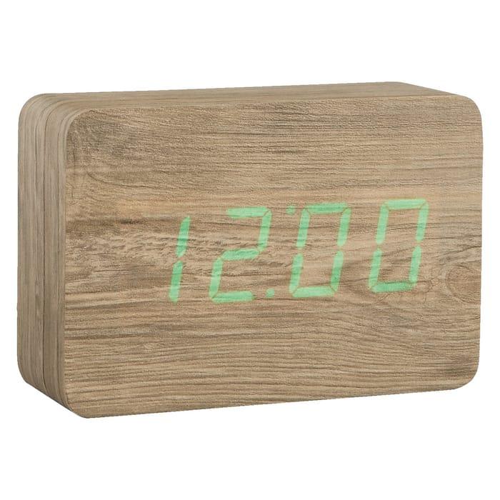 Ash LED Alarm Clock