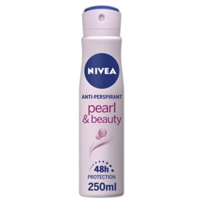 Nivea Anti-Perspirant Deodorant Spray Pearl & Beauty 250ml