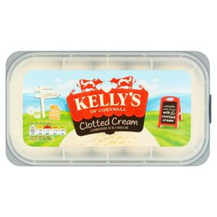 Kelly's Cornish Clotted Ice Cream 1L