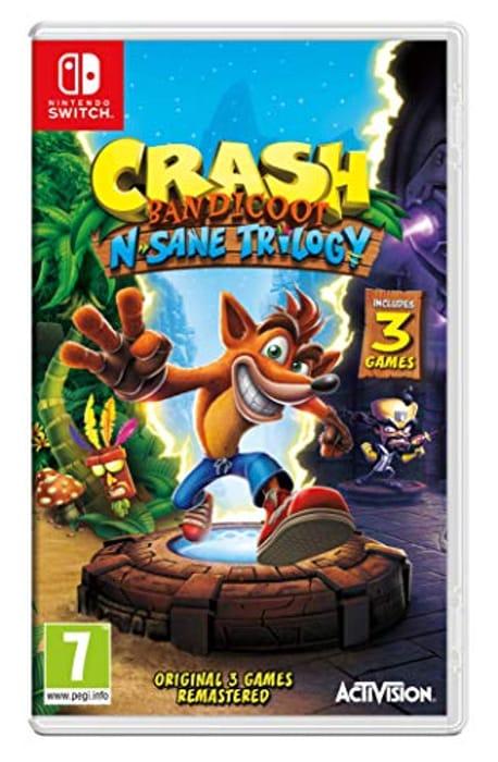 Nintendo Switch Crash Bandicoot N. Sane Trilogy £22.00 at Amazon