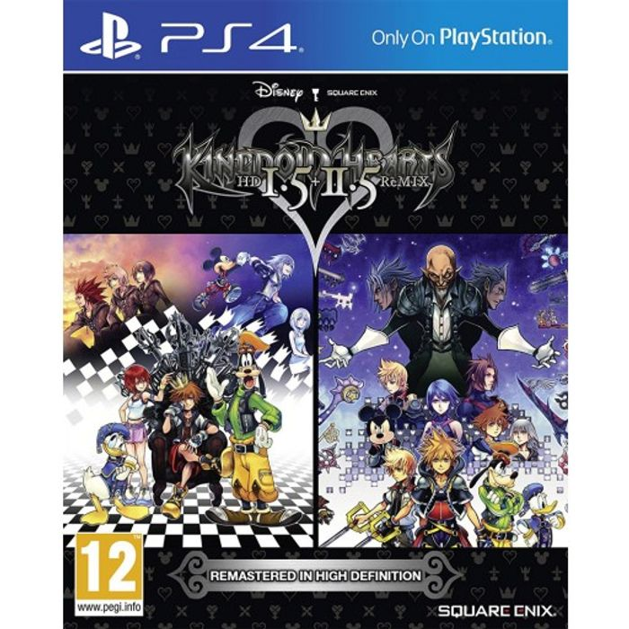 PS4 Kingdom Hearts HD 1.5 & 2.5 Remix £10.95 at the Game Collection