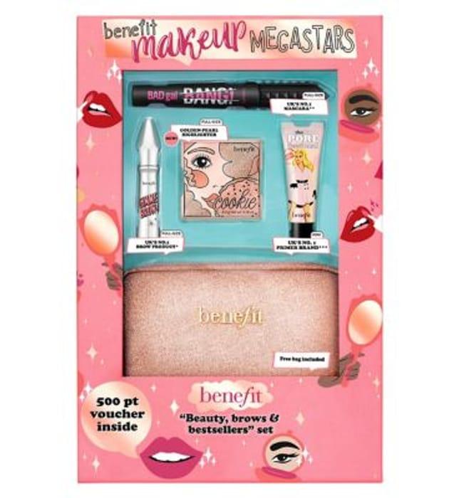 Benefit Makeup Megastars 4 Piece Set With Code SAVE3ONLINE