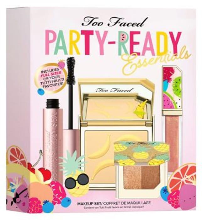 Too Faced Tutti Frutti Party Ready Essentials Set