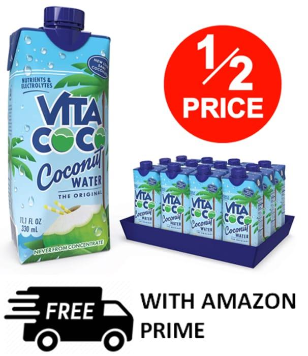 Vita Coco - Pure Coconut Water (330ml X 12)