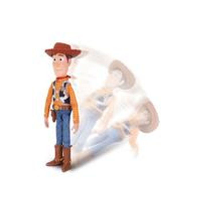Sheriff Woody with Interactive Drop down Action