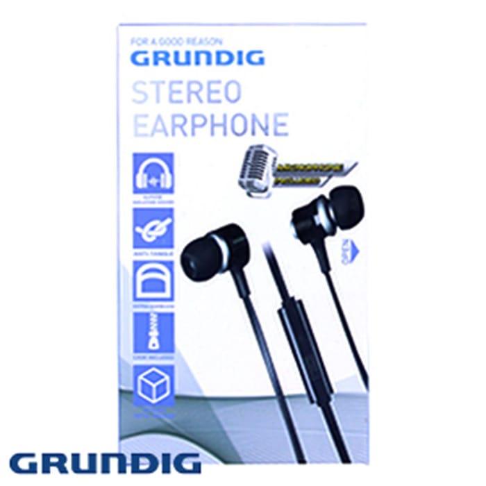 Grundig Stereo Earphones with Microphone