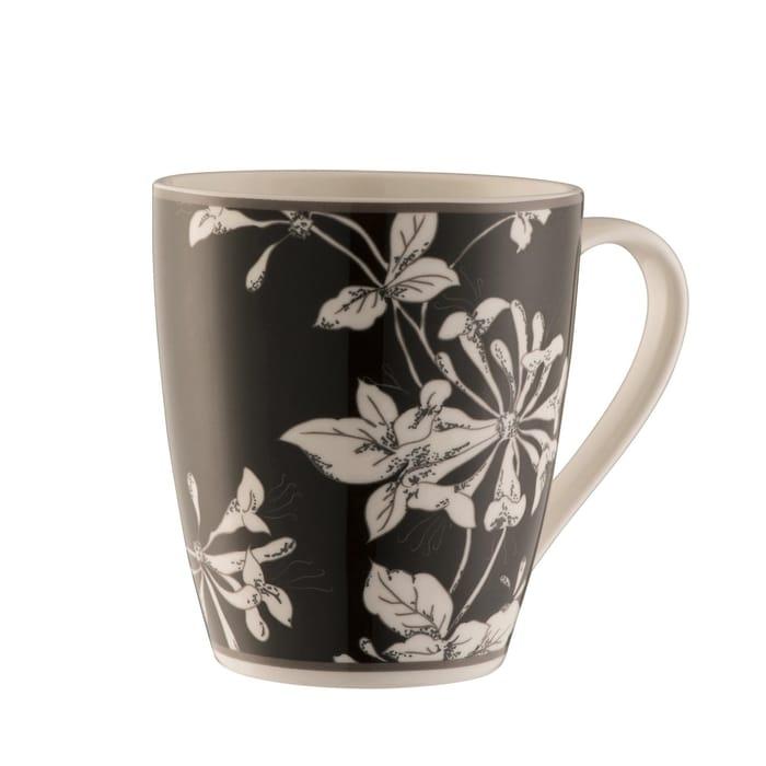Aynsley China-Honeysuckle 4 Mug Set