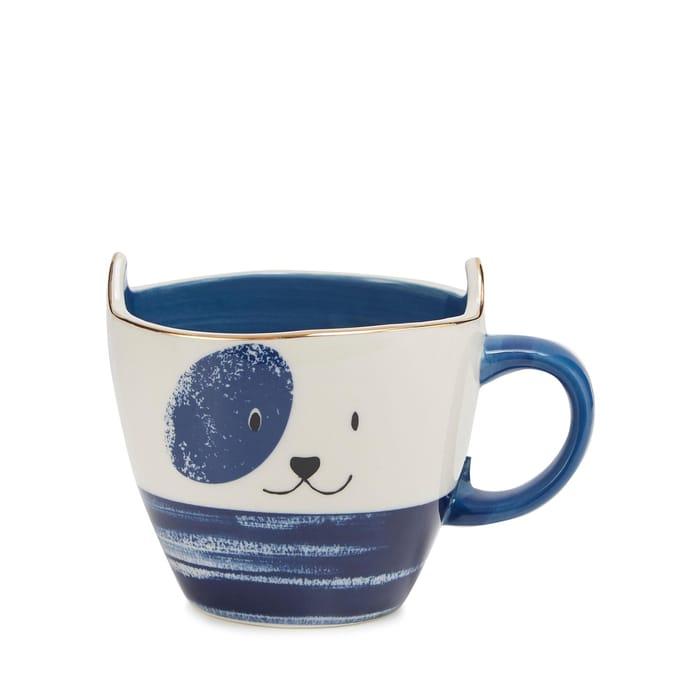 Debenhams-Blue Dog Mug