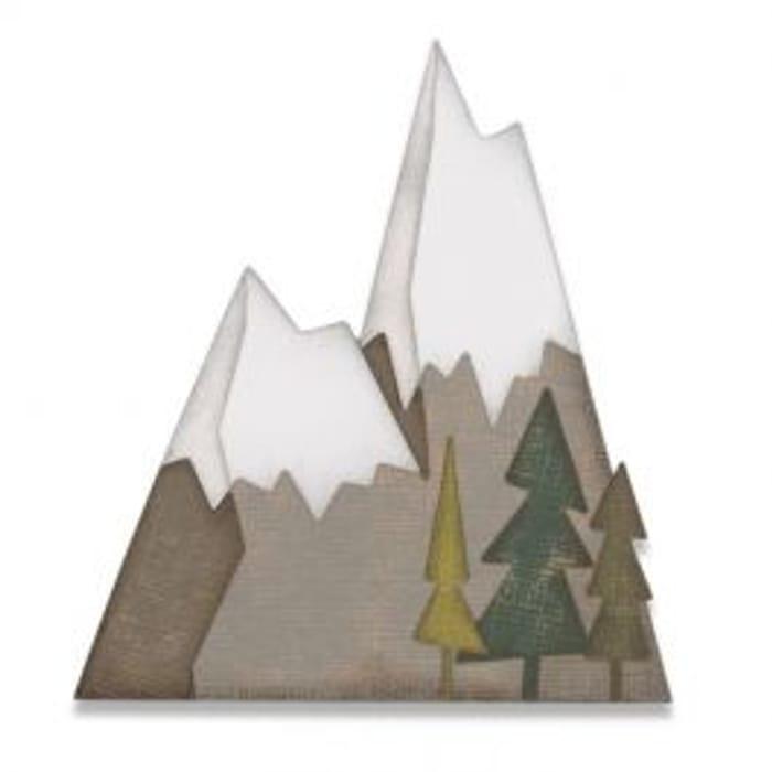 Sizzix Thinlits Die Set 7PK - Alpine by Tim Holtz