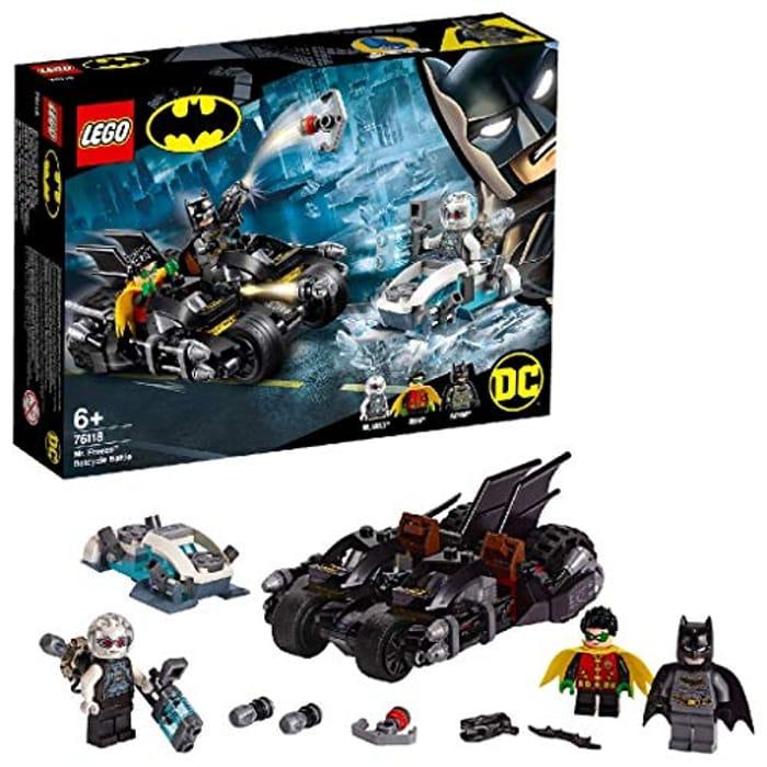LEGO BATMAN - Mr. Freeze Batcycle Battle