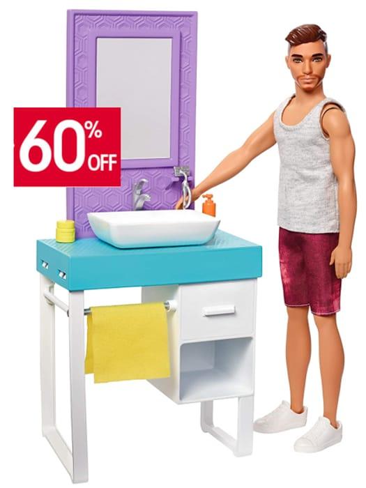 BARBIE 'Shaving Ken' Doll