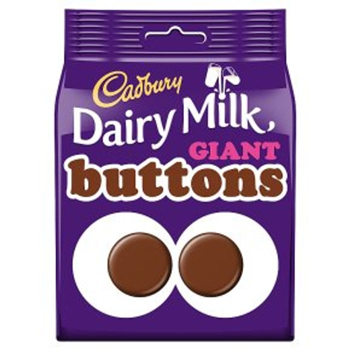 Cadbury Dairy Milk Giant Buttons119g