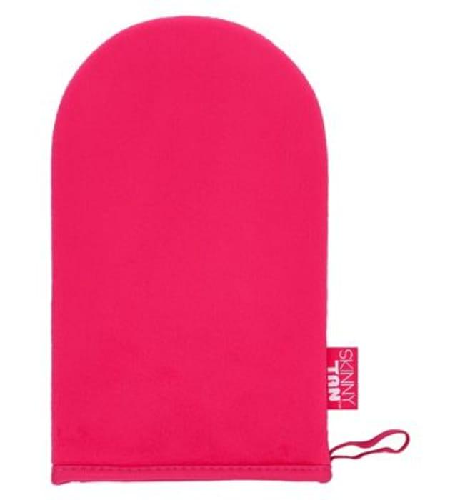 Skinny Tan Pink Velvet Tanning Mitt
