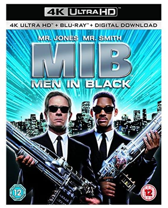 Men in Black 4k