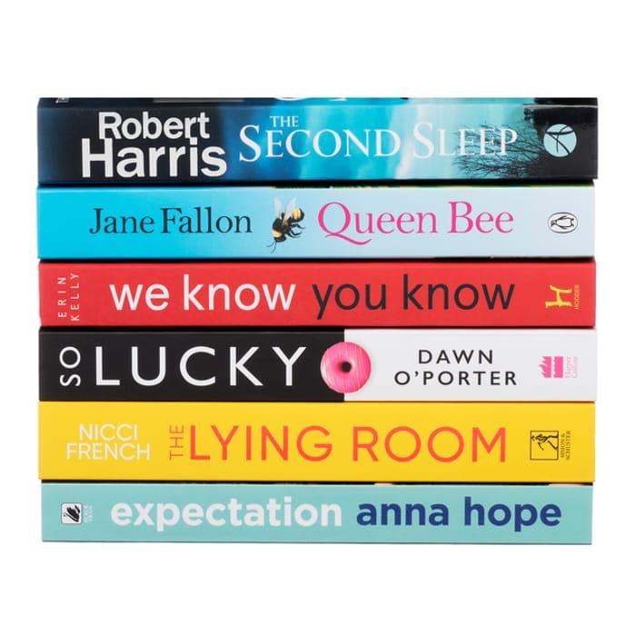 Richard and Judy Book Club 2020 Summer 6 Book Bundle