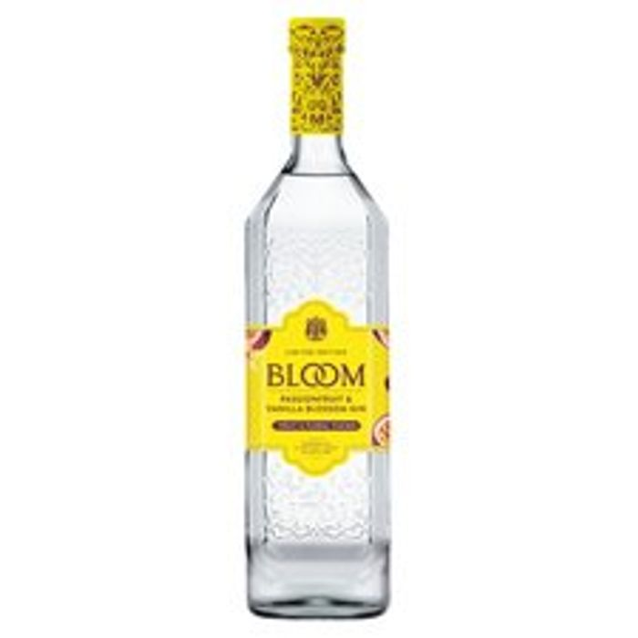 Bloom Passion Fruit & Vanilla Blossom Gin 70Cl