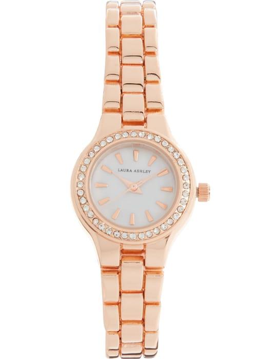 LAURA ASHLEY Rose Gold Tone Bracelet Analogue Watch (£99 on Amazon)
